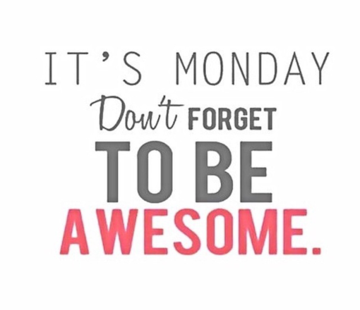 Its monday dont forget to be awesome tony evans tokyo its monday dont forget to be awesome thecheapjerseys Gallery